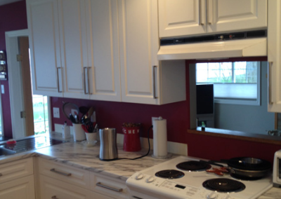 Langford, British Columbia Kitchen Refacing