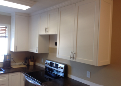 Saanich, British Columbia Kitchen Refacing