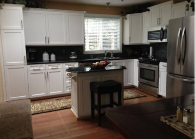 Nanaimo, British Columbia Kitchen Refacing