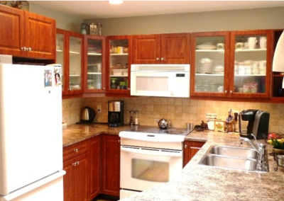 Chemainus, British Columbia Kitchen Refacing