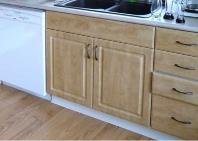 Qualicum, British Columbia Kitchen Refacing